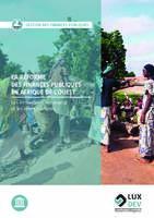 La réforme des finances publiques en Afrique de l'Ouest   Les innovations, les enjeux et les enseignements
