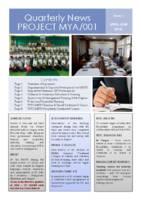 Quarterly News PROJECT MYA/001
